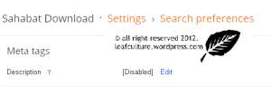 menambahkan meta description tag