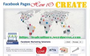Membuat Facebook Fanpage untuk Website atau Blog