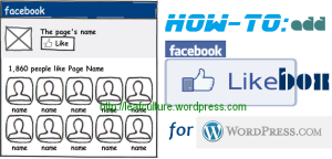 membuat facebook like box untuk wordpress