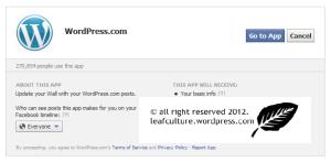 Promosi Blog WordPress Melalui Facebook dengan Publicize