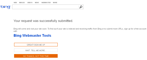 Submit Website atau Blog  ke Google dan Bing
