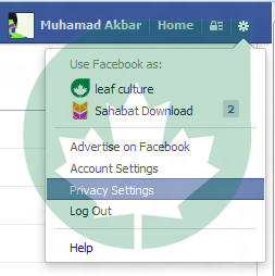 Setting Unsubscribe E-mail  Facebook Notification