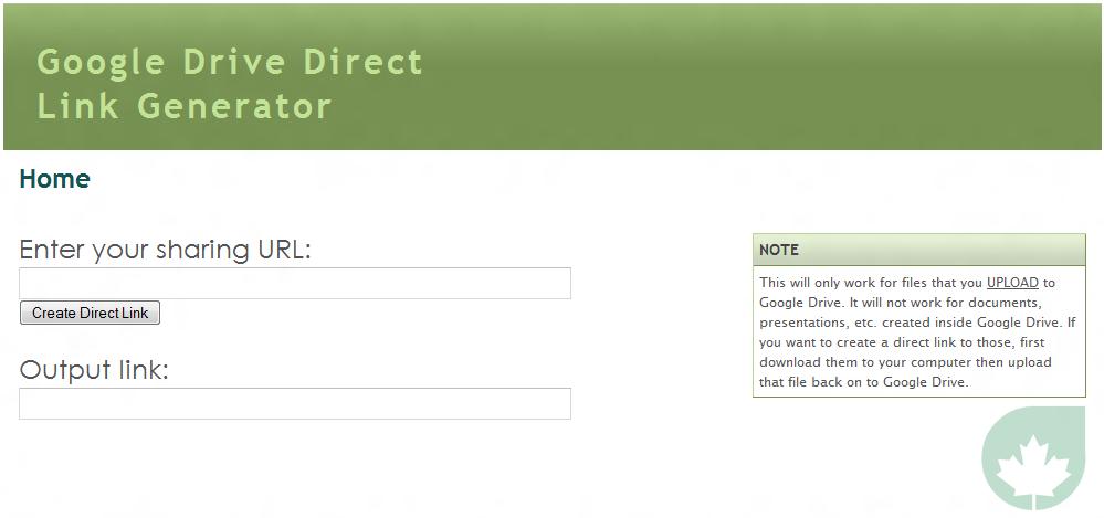Share direct links files google drive skip