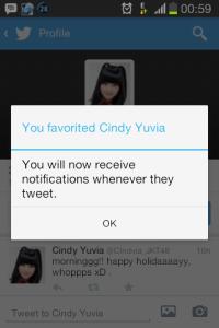 notifikasi twitter