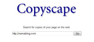 copyscape: cari tahu blog copy&paste