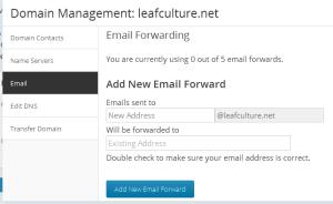 email dengan nama domain sendiri
