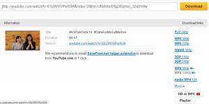 Download Video di Youtube dengan SaveFrom.net