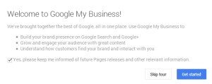 Cara Membuat Google+ Page (Google My Business)